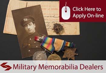 self employed military memorabilia dealers liability insurance