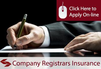 Company Registrars Professional Indemnity Insurance