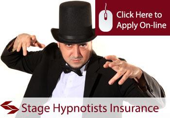 Stage Hypnotists Public Liability Insurance