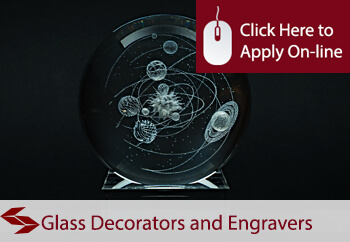 self employed glass or glass goods decorators and engravers liability insurance