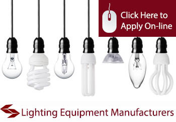 lighting equipment manufacturers commercial combined insurance