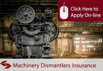 self employed machinery dismantlers liability insurance