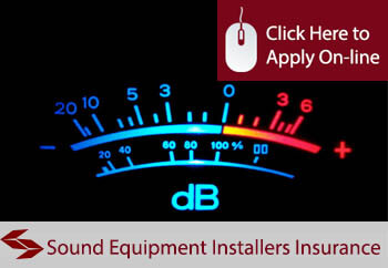 sound equipment installers insurance