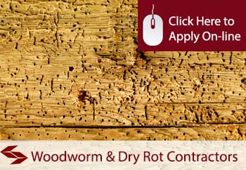tradesman insurance for woodworm and dry rot control contractors