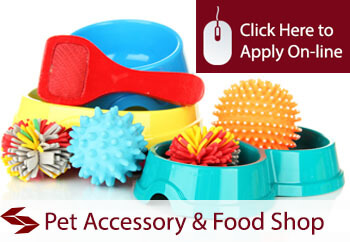 Pet Accessory and Food Store Shop Insurance
