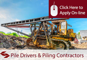 self employed pile drivers and piling contractors liability insurance
