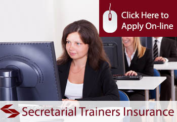 self employed secretarial trainers liability insurance