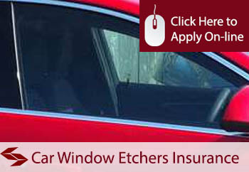 self employed car window etchers liability insurance