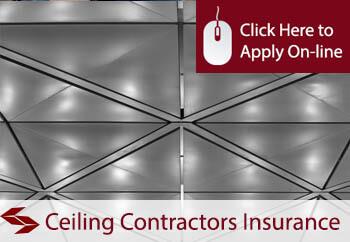 Ceiling Contractors Liability Insurance