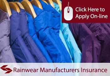 rainwear manufacturers insurance