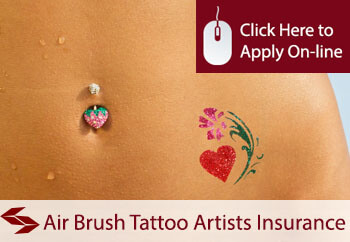 Air Brush Tattoo Artists Liability Insurance