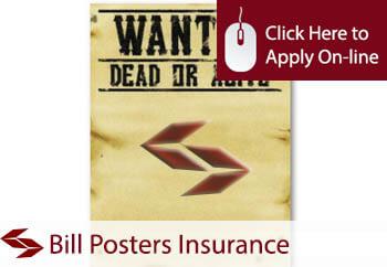 Bill Posters Employers Liability Insurance
