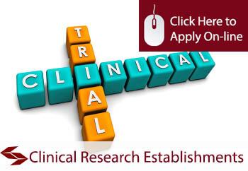 Clinical Research Establishments Medical Malpractice Insurance