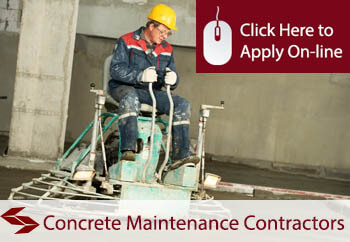 Concrete Maintenance Contractors Public Liability Insurance