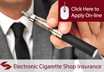 Electronic Cigarette Shop Insurance