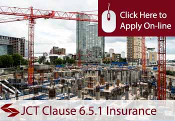 JCT Clause 6.5.1 Insurance