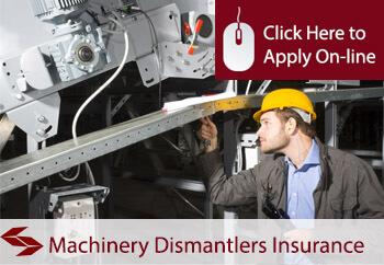 Machinery Dismantlers Public Liability Insurance