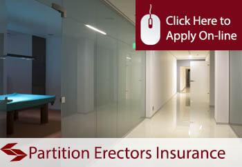 Partition Erectors Liability Insurance