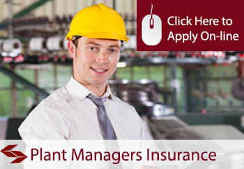 Plant Managers Liability Insurance