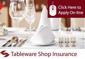 Tableware Shop Insurance