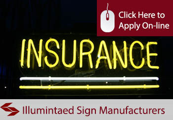 illuminated sign manufacturers liability insurance