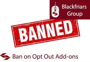 ban on opt out insurance products