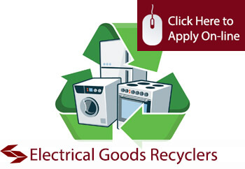 electrical goods recyclers insurance