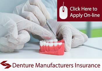 denture manufacturers insurance