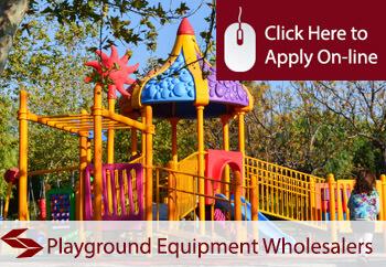 playground equipment wholesalers insurance