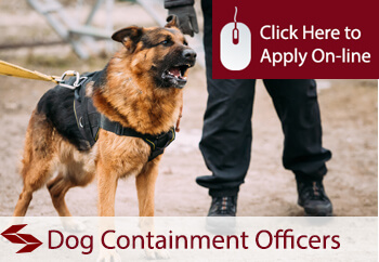 dog containment officers insurance